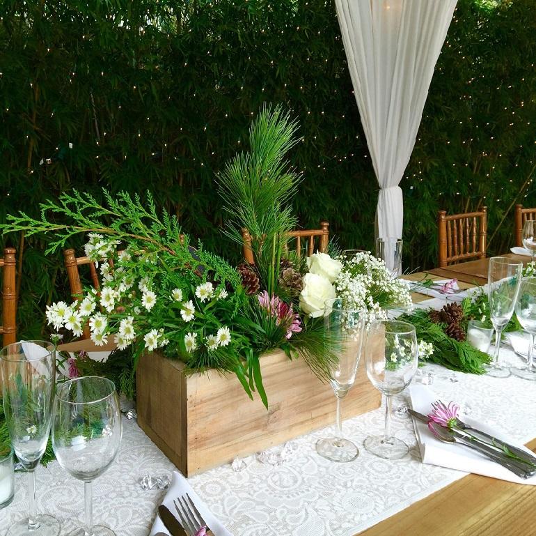 Barn / Winter wedding