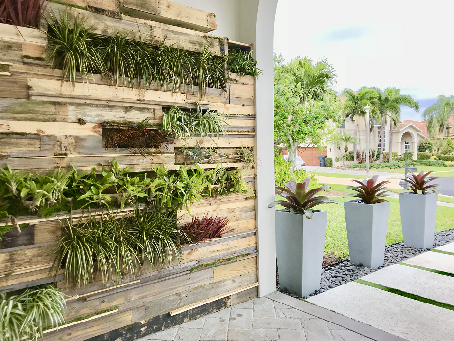 Tropical Living Wall